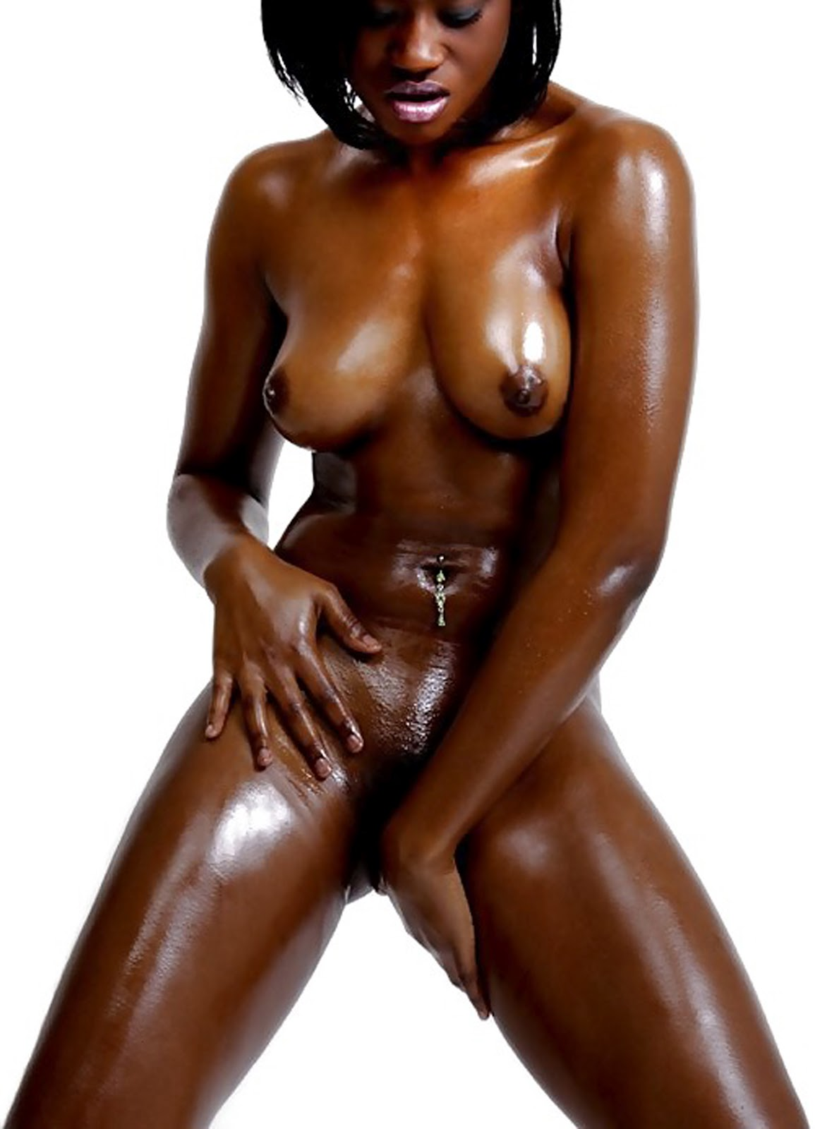 Oiled skinny black girls nude know, you