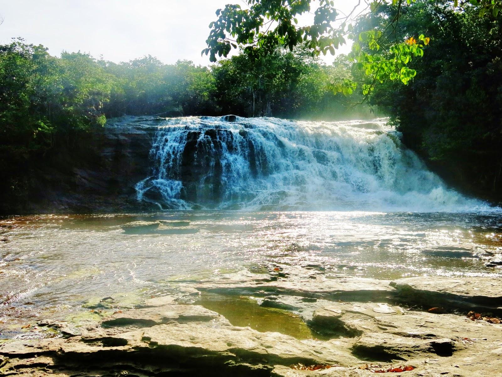 Cachoeira da Iracema, em Presidente Figueiredo