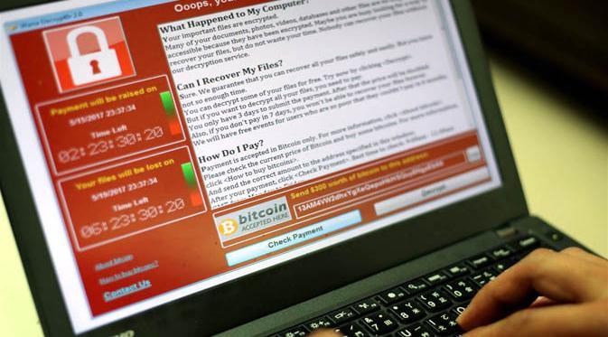 Ransomware WannaCry, Peta Serangan, Real Time