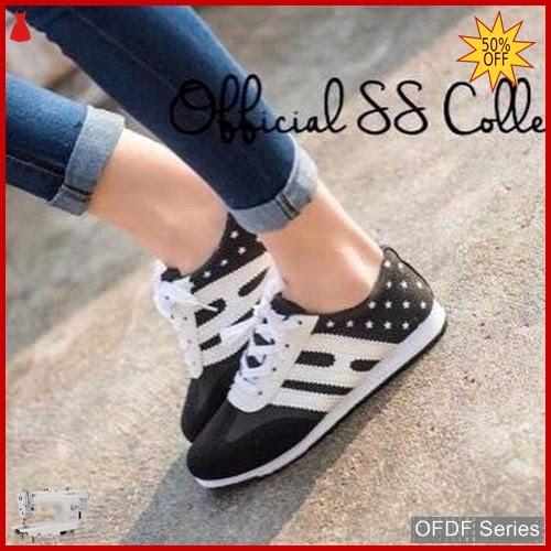 OFDF319 Sepatu Sneakers Cantik Opeck Warna Hitam BMGShop