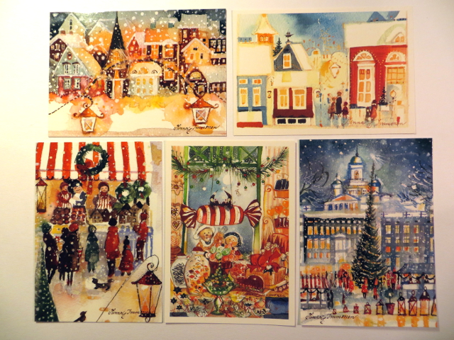 Minna Immonen Christmas cards