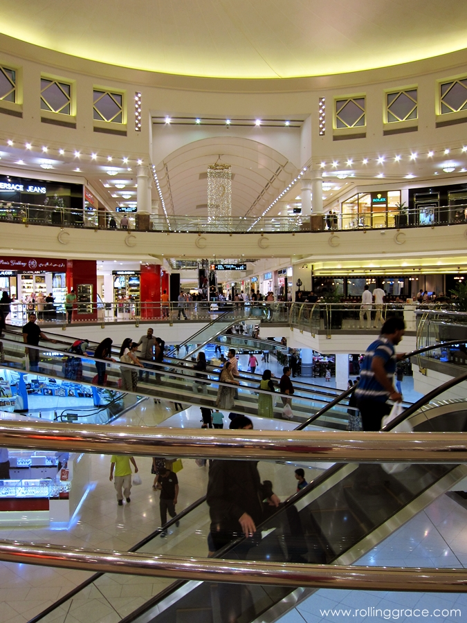 popular dubai shopping malls