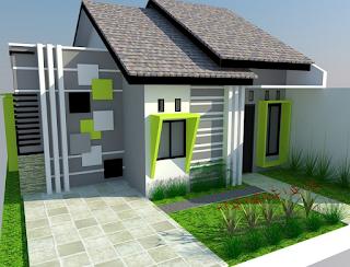 Desain Rumah Kecil Unik Era Modern 2016 4