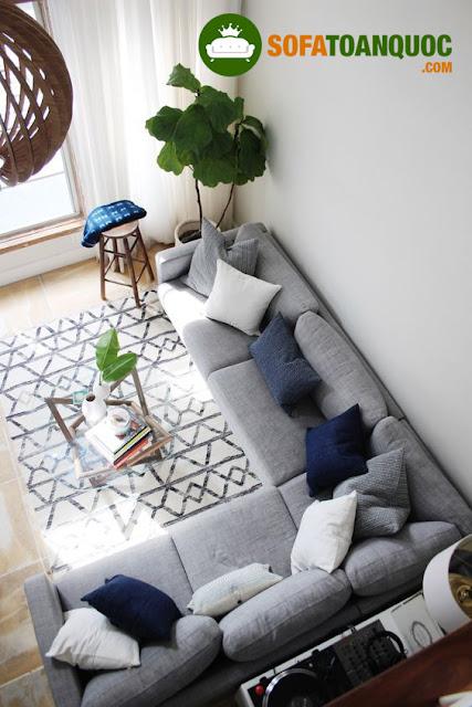 bộ bàn ghế sofa góc đẹp