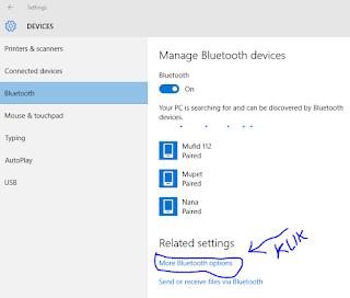 cara mengembalikan icon bluetooth yang hilang dari system tray pada windows 10