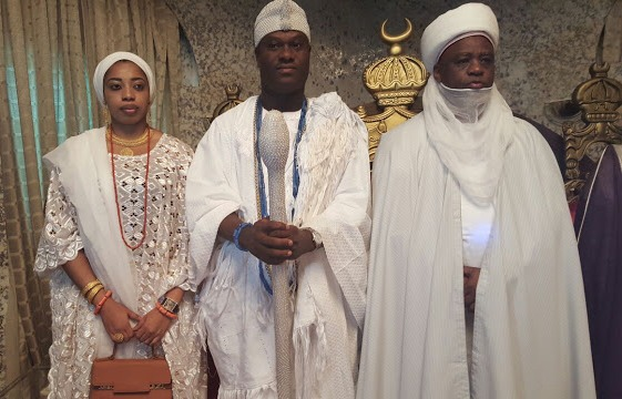 Photo News: Ekiti state Governor Ayodele Fayose Welcomes Sultan of ...