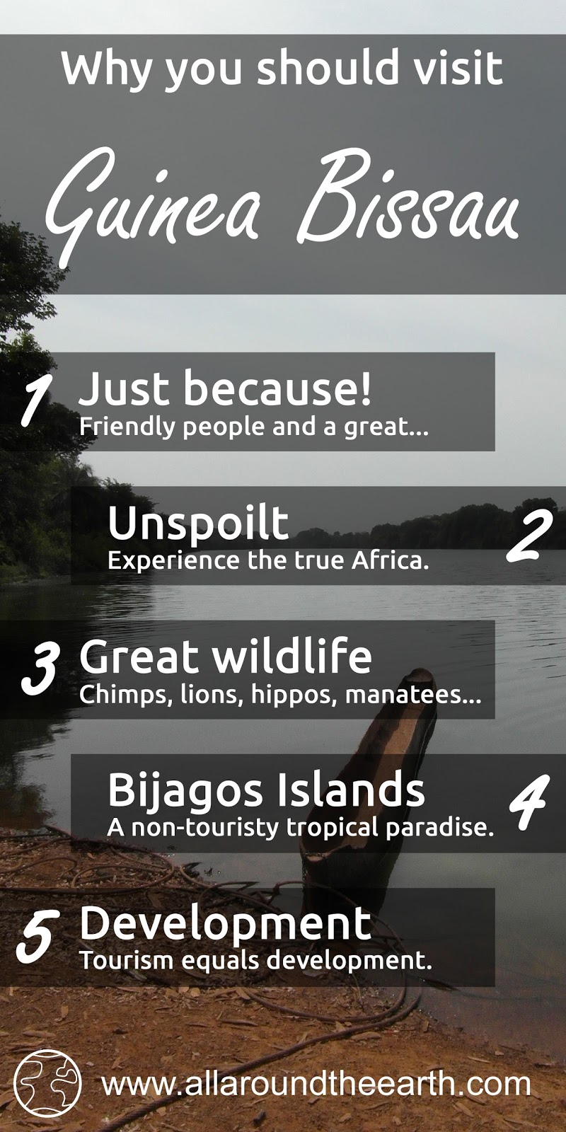 5 reasons to visit Guinea Bissau in West Africa