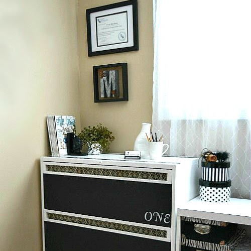 How To Transform A Secondhand Metal Lateral File Cabinet
