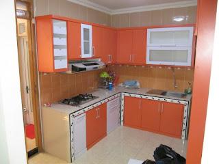 Interior Ruang Dapur semarang