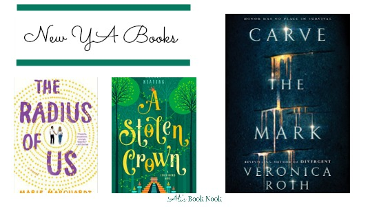 Don't miss these young adult new books