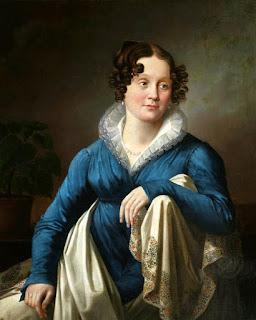 Олешкевич Иосиф Иванович. Женский портрет, 1823