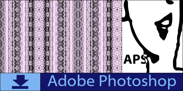 Vertical Lace Seamless Tiling Patterns