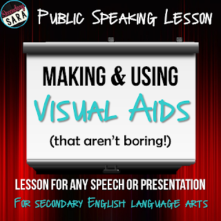 Public Speaking Lesson: Making and Using Visual Aids (That Aren't Boring)