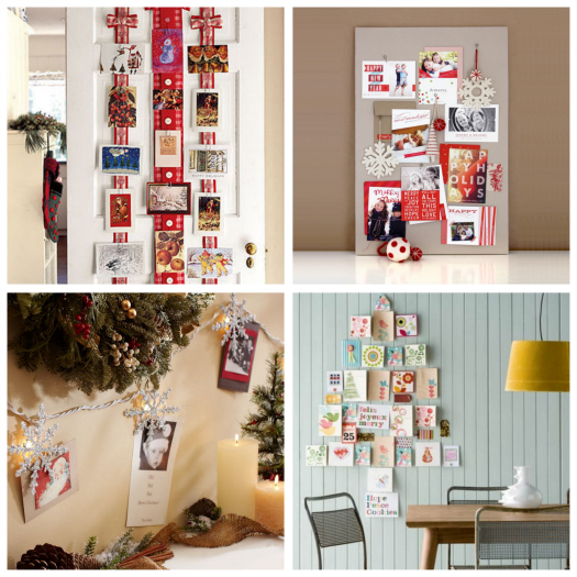 Iheart organizing happy holidays christmas card display - Christmas card display ideas ...