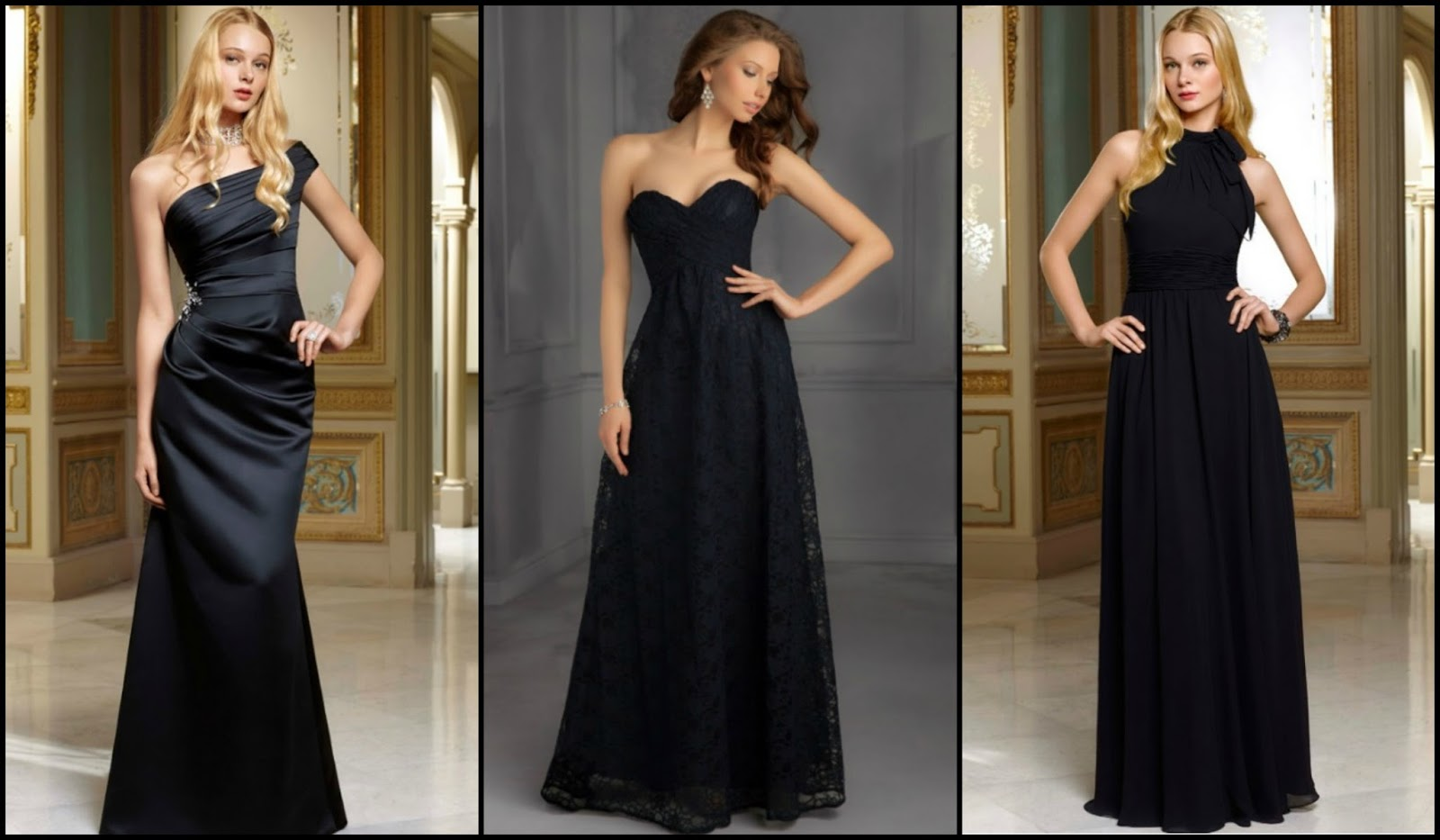 Brides of america online store elegant black bridesmaid dresses that wedding inspired him to begin suggesting this exquisite look to the brides that came into our miami bridal boutique many of them also loved the air of ombrellifo Images