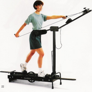 is the nordictrack ski machine a workout