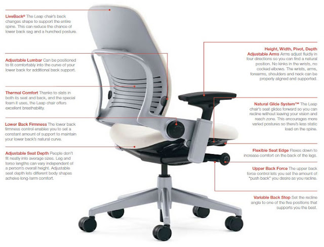 best buy ergonomic executive office chair reviews