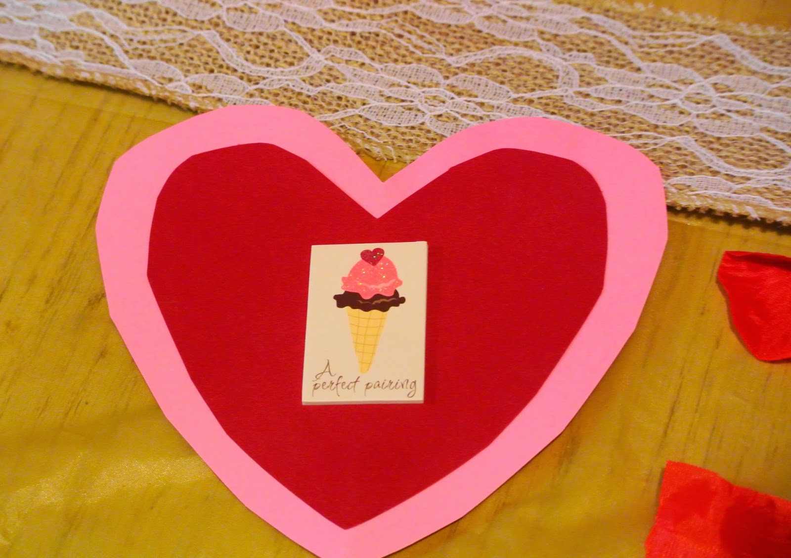 B is 4 Homemade Valentines Day Cards – Hand Made Valentine Day Cards