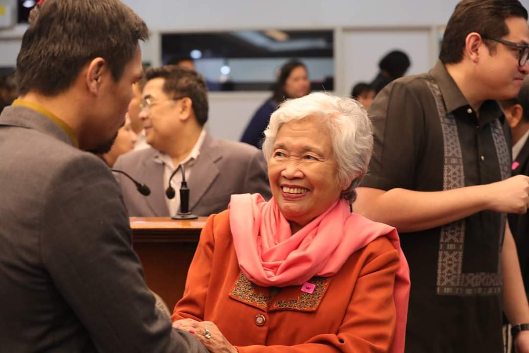 Education secretary Leonor Magtolis Briones