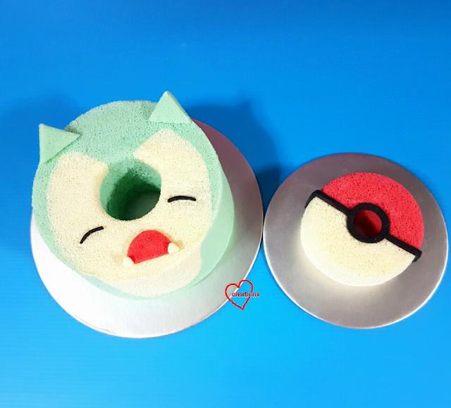 Snorlax Cake Recipe
