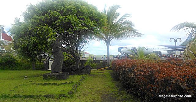 Aeroporto de Mataveri - Ilha de Páscoa