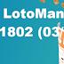 Resultado Lotomania - Concurso 1802 (03/10/17)