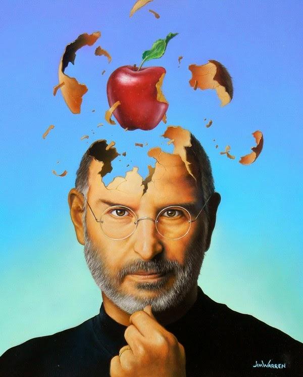 Steve Jobs - Uma Grande Ideia - Jim Warren pinta sonhos e ilusões de maneira fantástica.