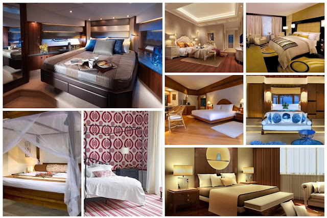 Bedrooms With Elegant Hotel Designs