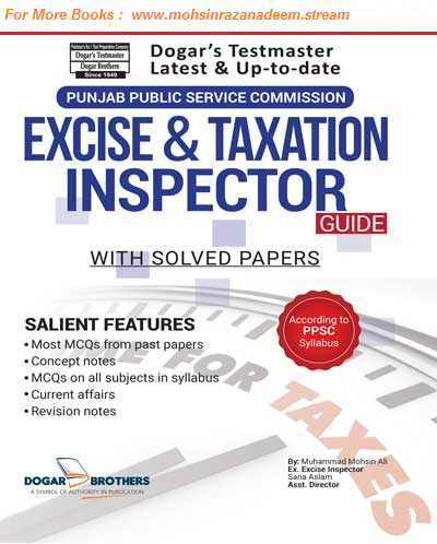 Excise And Taxation Inspectors Doger Publishers PDF Guide | News by
