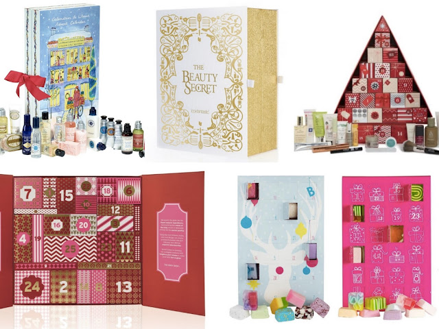 Advent Calendars 2016 : The best beauty advent calendars for flutter and