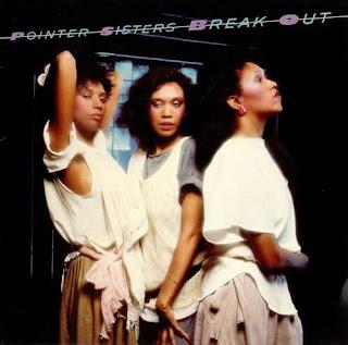 Pointer Sisters - Break Out okładka albumu