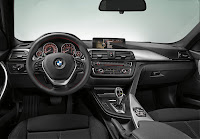2013 BMW 3-Series (F30) Interior Detail Cockpit Standard Version