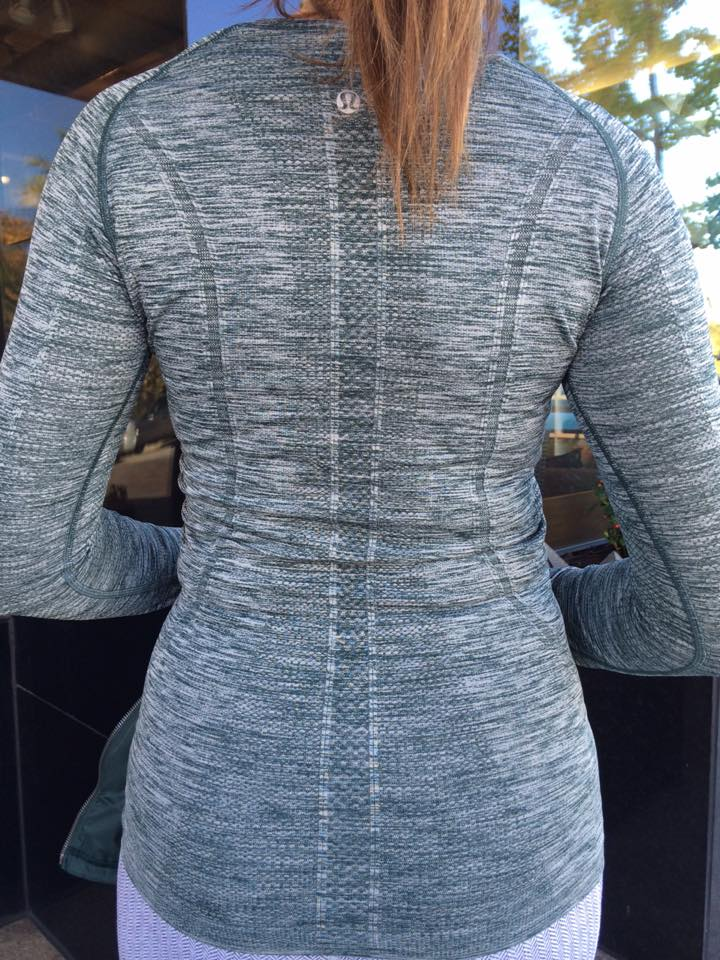 lululemon fuel green swiftly ls