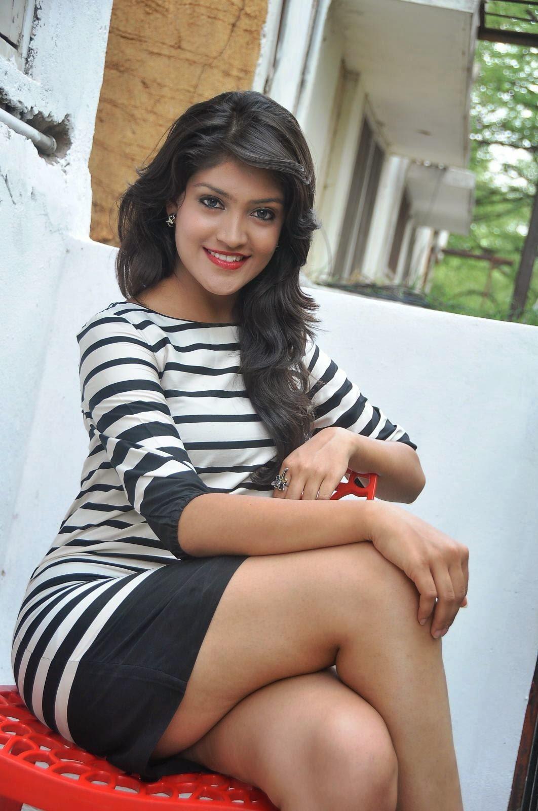 Beauty Of Legs  Actress Krupali Hot Upskirt Showing -6602