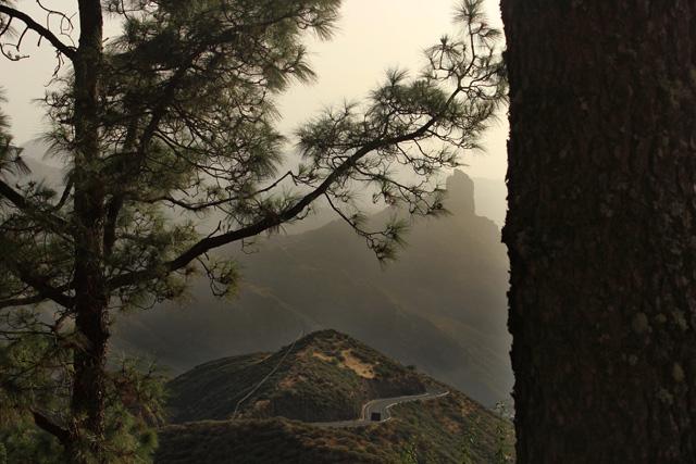 Vistas desde el Parador de Tejeda