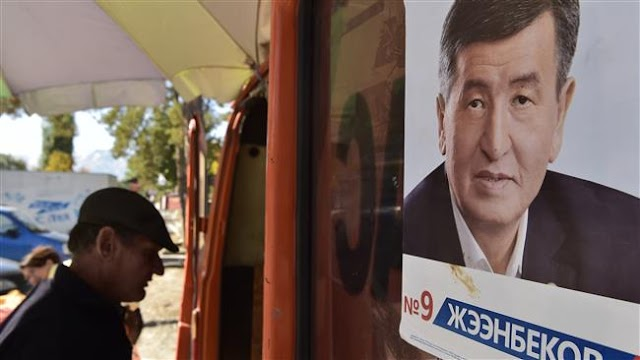 Sooronbay Jeenbekov to  become Kyrgyzstan's fifth president