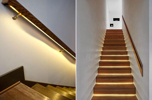 Dây đèn led trang trí cầu thang