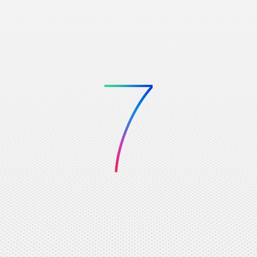 iOS 7 wallpaper for iPad Retina1