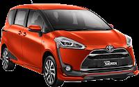 Harga Toyota Sienta Pekanbaru Riau