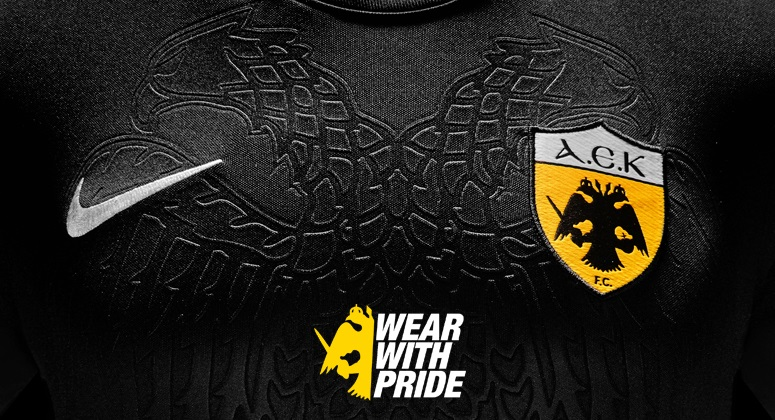 Greek club AEK FC today revealed their new jerseys for the 2017-18 season.  Made for the third consecutive years by Nike 43b00f276