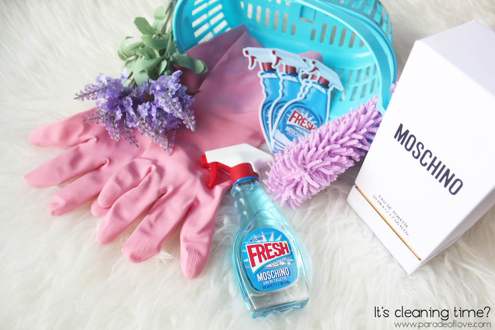 Moschino's Fresh Couture Fragrance