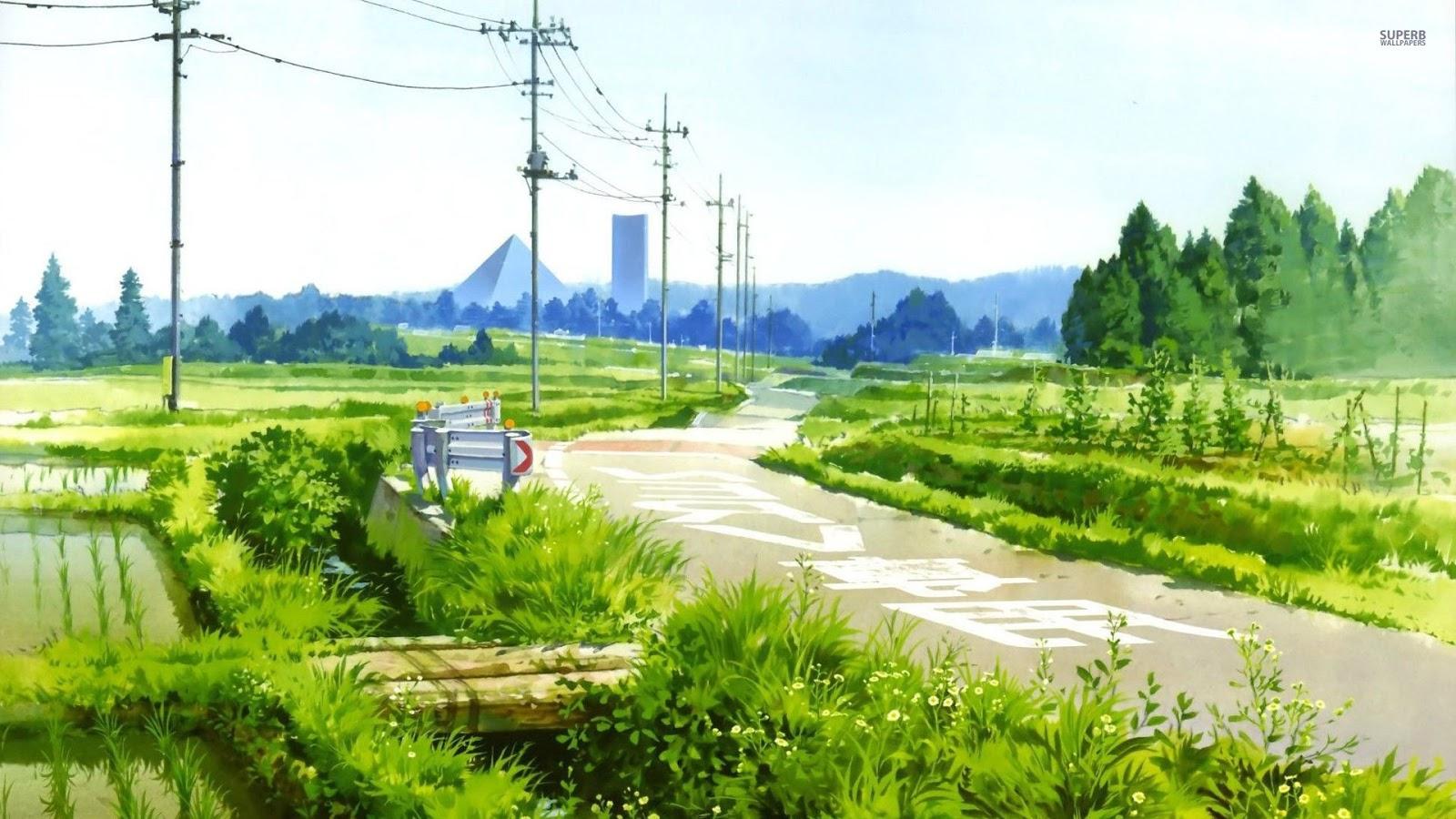Frieden Lucette: Wallpaper #4 - Anime Scenery