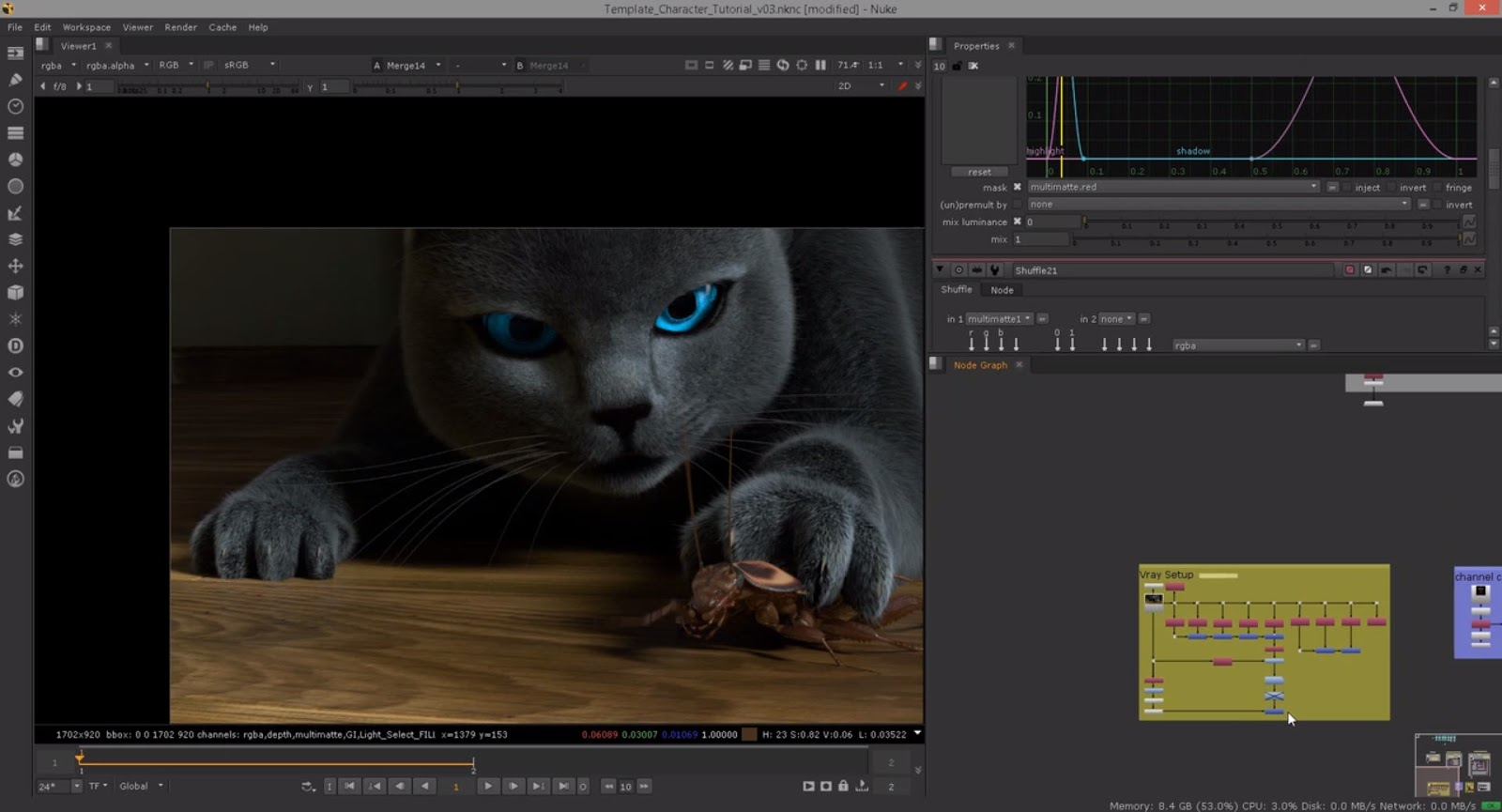 Nuke Templating for Full CG Productions | CG TUTORIAL