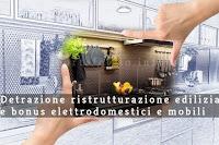 detrazioni fiscali per ristrutturazione edilizia e acquisto mobili ed elettrodomestici