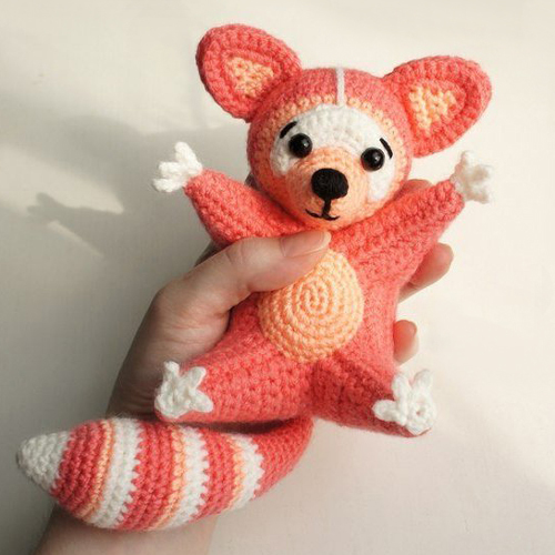 Raccoon Amigurumi Crochet Pattern