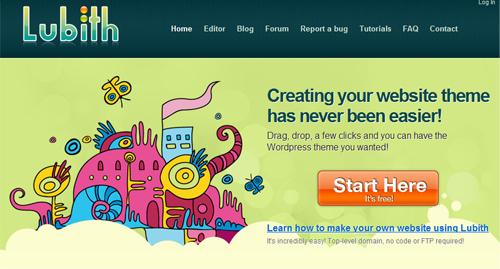 Crear Tema WordPress con Lubith
