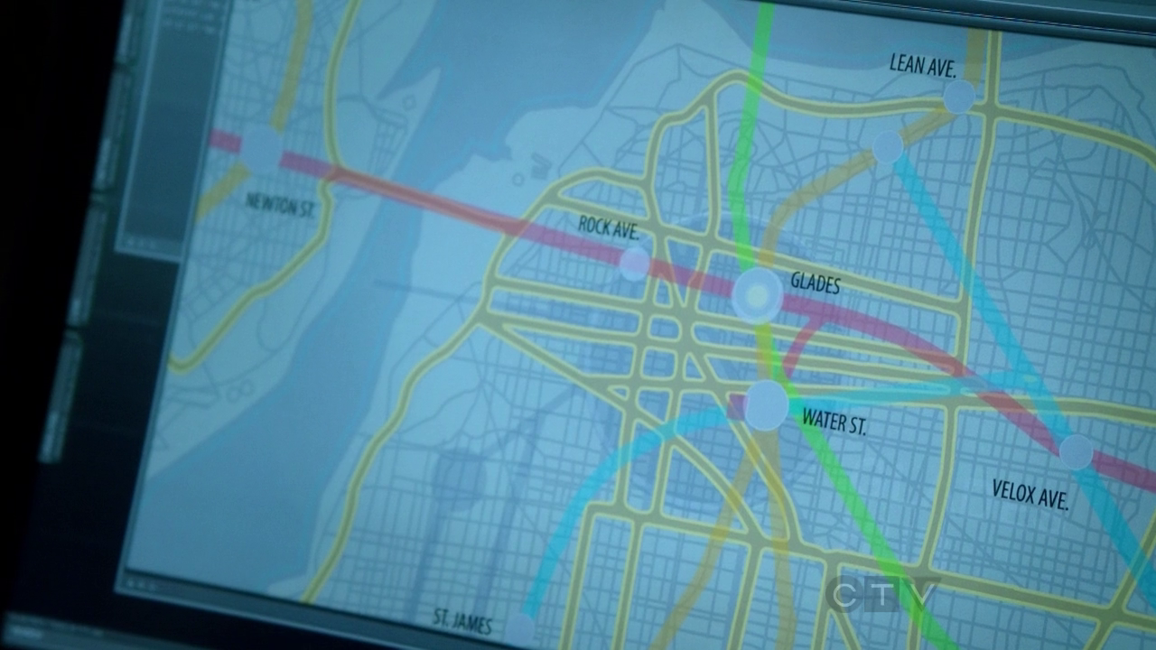 Starling City Map Nerdovore: Map of Starling City (from TVs Arrow / Comicbooks Green