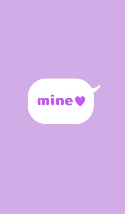 mine ♥ purple .