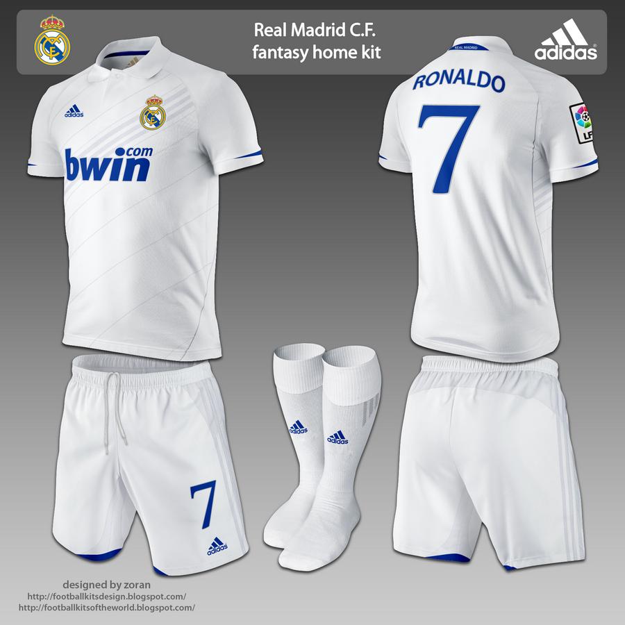 timeless design 1bc99 9b114 football kits design: Real Madrid fantasy kits