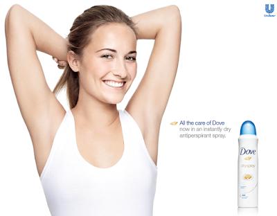 Xịt Khử Mùi Cho Nữ Dove Dry Spray Nourished Beauty - XKM005
